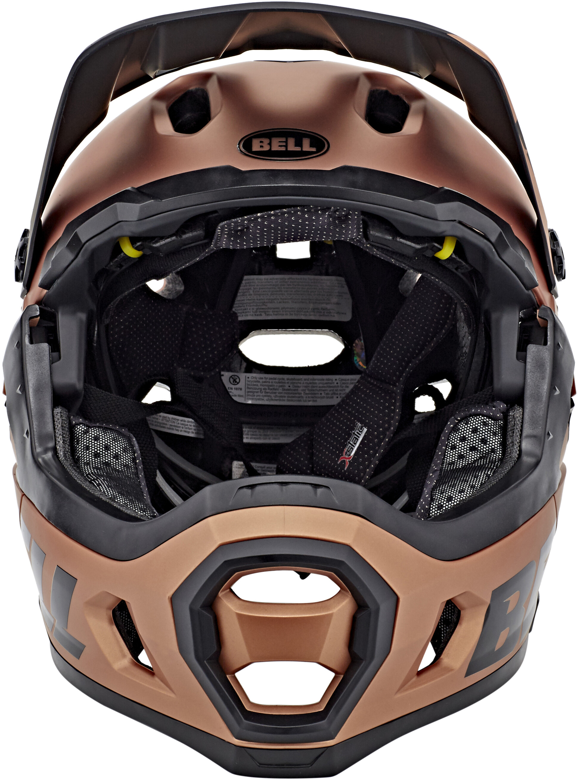 bell super dh mips mtb helmet matte gloss copper online kaufen. Black Bedroom Furniture Sets. Home Design Ideas